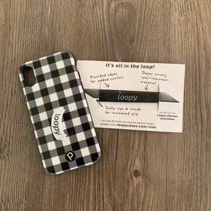 Loopy iPhone X/XS Plaid (Lefty) Case